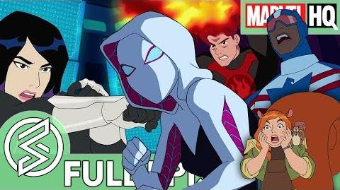 Marvel Rising Chasing Ghosts Starring Dove Cameron, Chloe Bennet & Milana Vayntrub SPECIAL