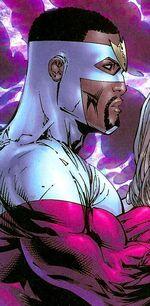 Samuel Wilson (Earth-7642) from New Avengers Transformers Vol 1 1 001