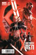 Uncanny X-Men Vol 3 1 Dell'Otto Variant