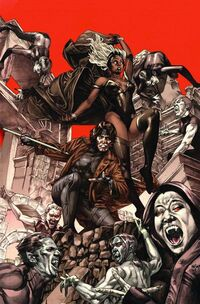 X-Men Curse of the Mutants - Storm & Gambit Vol 1 1 Textless