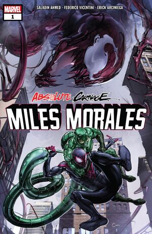 Absolute Carnage Miles Morales Vol 1 1
