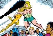 Brian Braddock (Earth-616) and Meggan Puceanu (Earth-616) from Excalibur Vol 1 8 0001