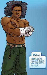 Bull (Wakandan) (Earth-616) from Infinity The Hunt Vol 1 1 001