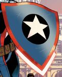 Captain America's Shield from Captain America Steve Rogers Vol 1 1 Cover