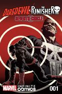 Daredevil Punisher Seventh Circle Infinite Comic Vol 1 1