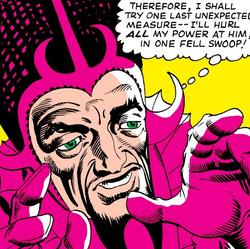 Demonicus (Mordo's Apprentice) (Earth-616) from Strange Tales Vol 1 128 001