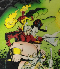 Freedom Force (Earth-90613) from X-Men II Fall of the Mutants 0001