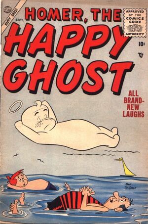 Homer, the Happy Ghost Vol 1 4