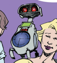 Humanoid Experimental Robot B-Type Integrated Electronics (Earth-65) from Spider-Gwen Vol 2 7 001