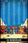 In Memoriam from Marvel Comics Vol 1 1000 0001