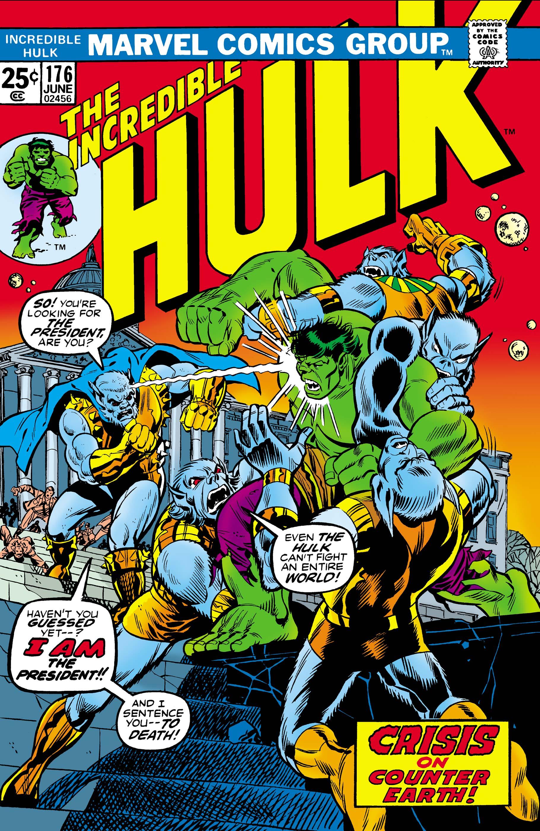 Incredible Hulk Vol 1 176