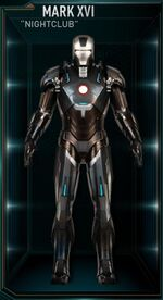 Iron Man Armor MK XVI (Earth-199999)