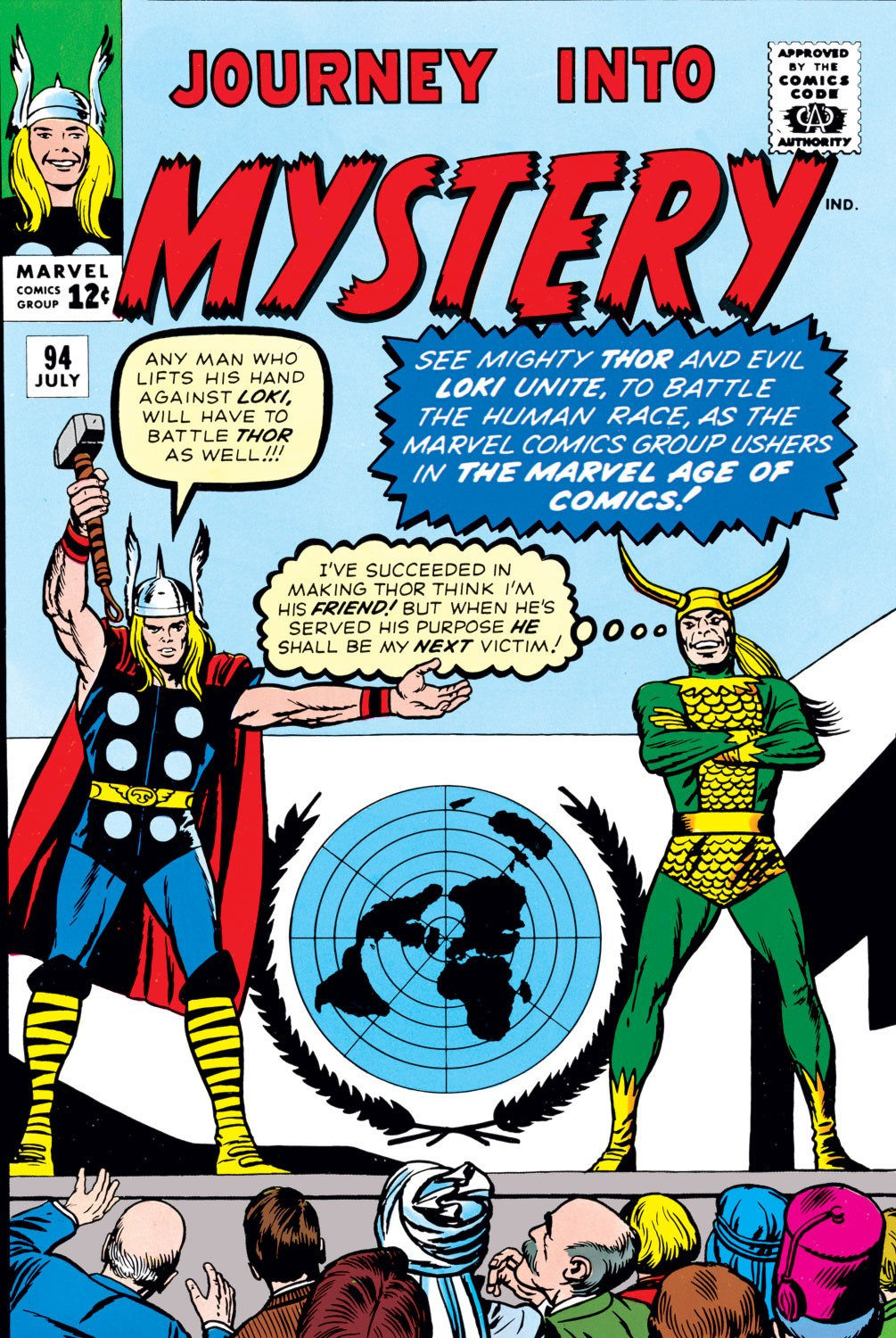 Journey into Mystery Vol 1 94 | Marvel Database | FANDOM powered by ...