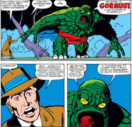 Reed Richards (Earth-616) confronts Gormuu from Fantastic Four Vol 1 271