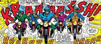 Satan's Saints (Earth-616) from X-Men Vol 1 32 0001