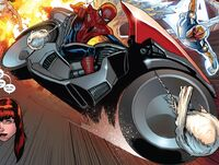 Spider-Cycle from Ultimate Spider-Man Vol 1 200 001