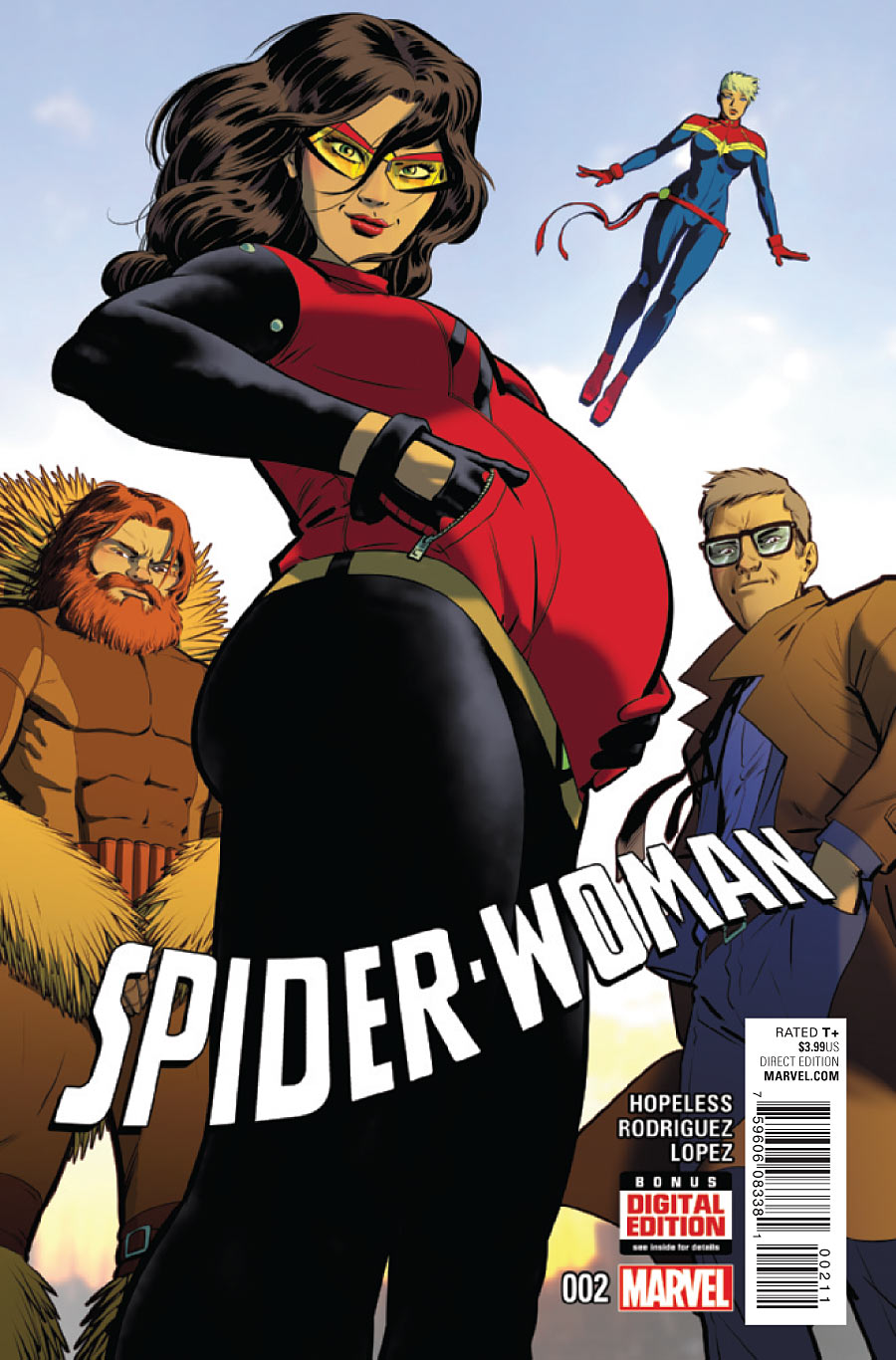 Image result for spider woman baby talk