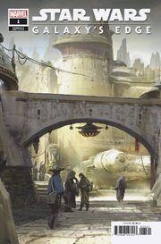 Star Wars Galaxy's Edge Vol 1 1 Disneyland Attraction Variant