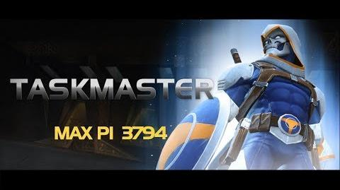 Taskmaster Special Moves Marvel Contest of Champions