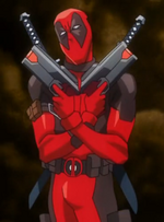 Wade Wilson (Earth-14042) from Marvel Disk Wars The Avengers Season 1 27 002