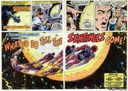 Avengers Vol 1 102 What to Do Till the Sentinels Come (Title Pages)