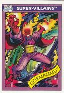 Dormammu (Earth-616) from Marvel Universe Cards Series I 0001