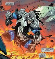 Edward Brock (Earth-616) and Venom (Dreamstone Simulacrum) from Venom Vol 4 14 001