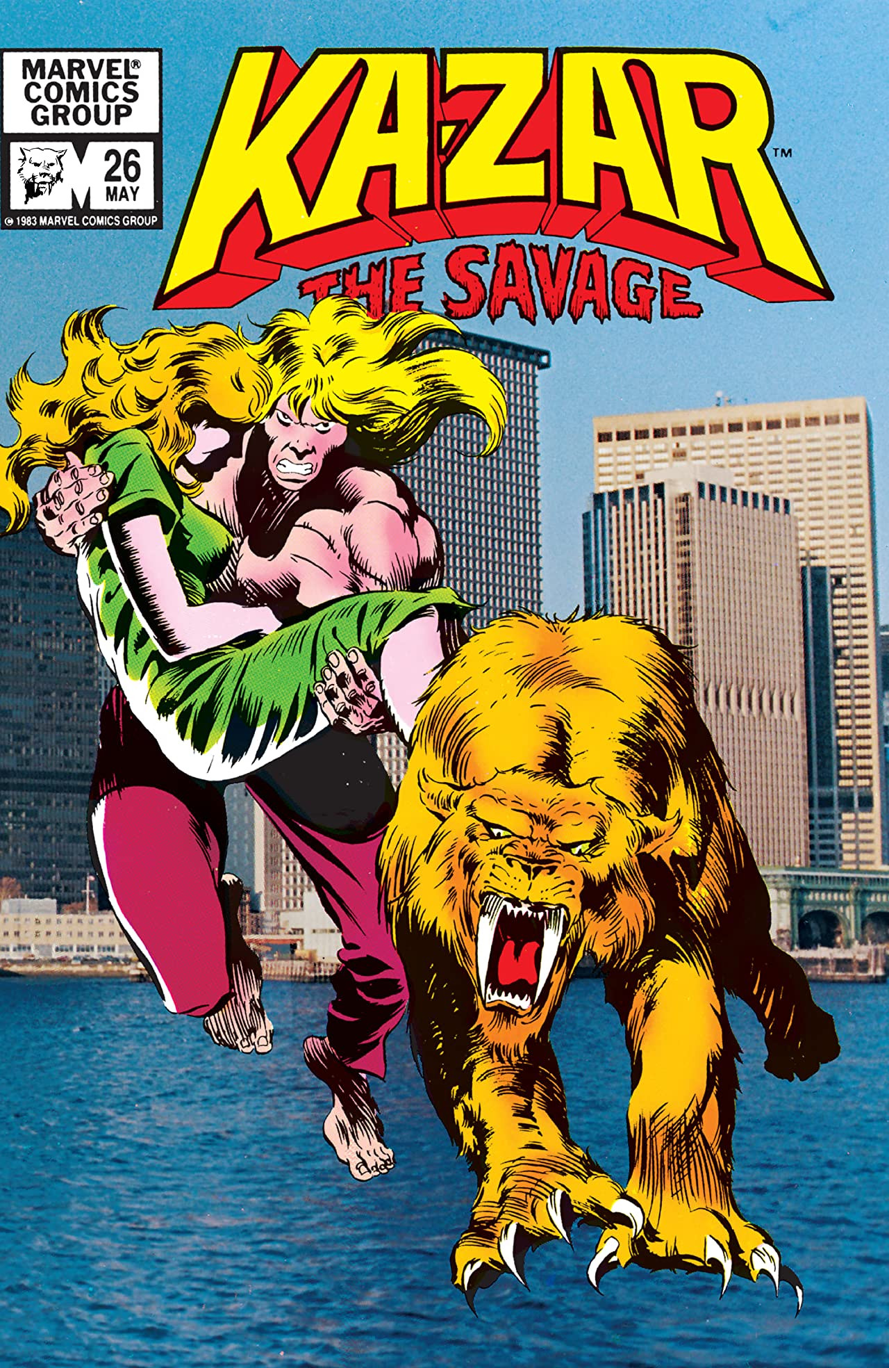 Ka-Zar the Savage Vol 1 26