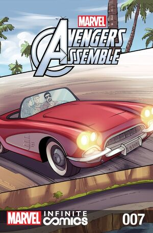 Marvel Universe Avengers Infinite Comic Vol 1 7