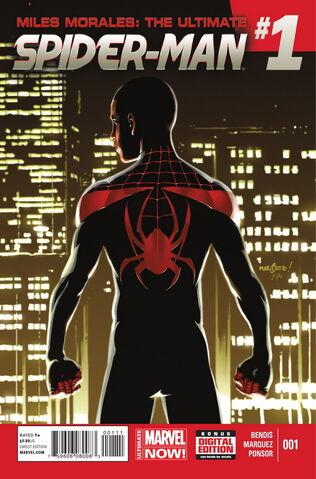 File:Miles Morales Ultimate Spider-Man Vol 1 1.jpg