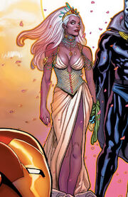 Ororo Munroe (Earth-616) from Black Panther Vol 4 18 cover