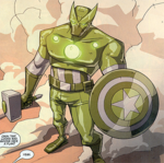 Super-Adaptoid (Earth-8096) from Avengers Earth's Mightiest Heroes Vol 3 1 0001
