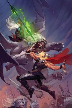 Thor God of Thunder Vol 1 13 Textless
