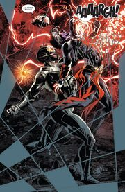 Ultron (Earth-616) vs. Magus (Earth-7528) from Infinity Countdown Prime Vol 1 1