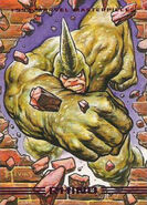 Aleksei Sytsevich (Earth-616) from Marvel Masterpieces Trading Cards 1993 Set 0001