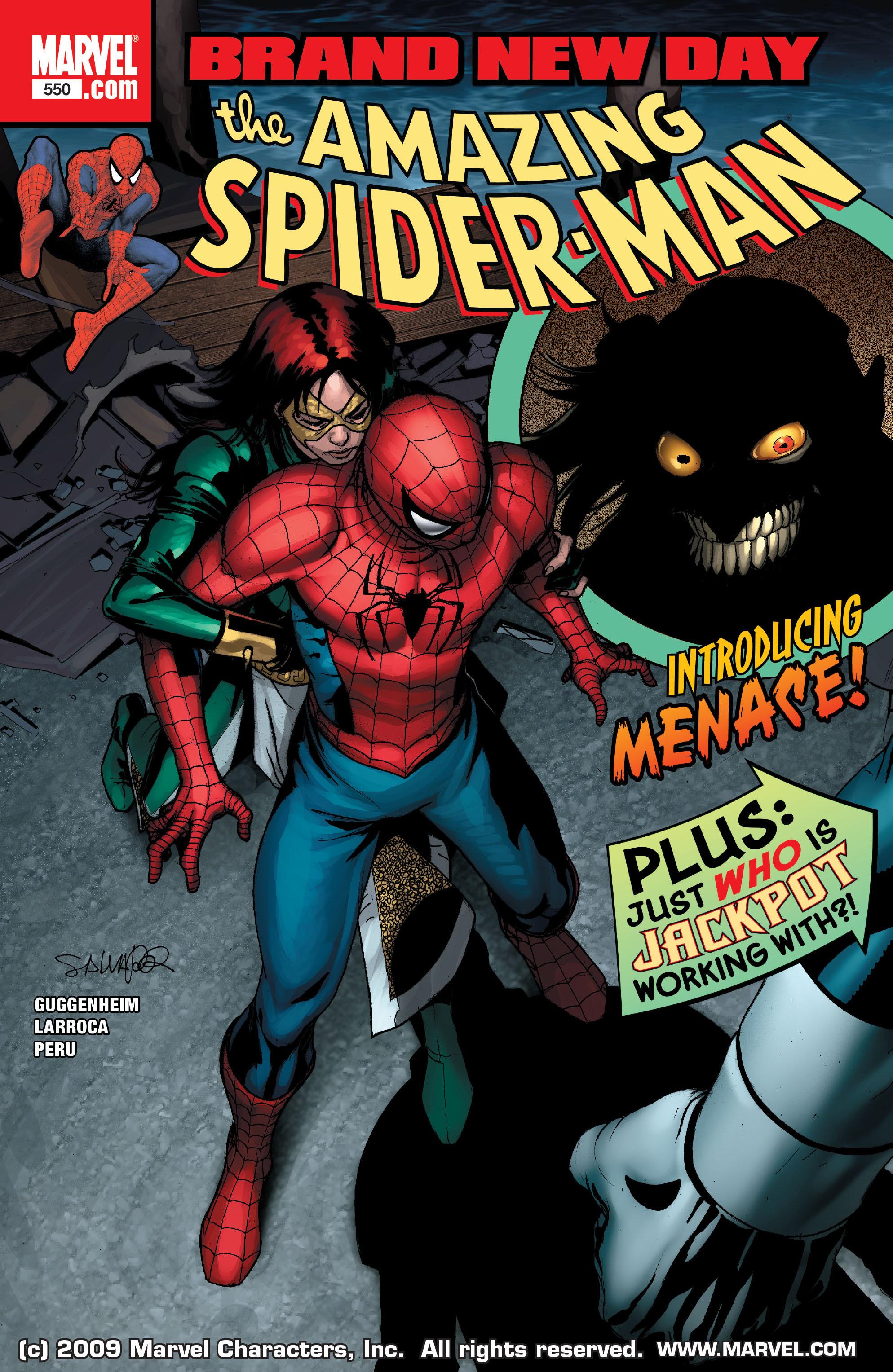 Amazing Spider-Man Vol 1 550