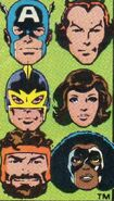 Avengers (Earth-616) from Avengers Vol 1 259 Cover