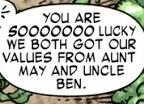 Benjamin Parker (Earth-91101) from Spider-Man The Clone Saga Vol 1 1 001