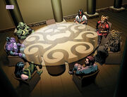 High Council of Hydra (Earth-616) from Captain America Steve Rogers Vol 1 14 001