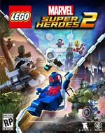 LEGO Marvel Super Heroes 2 box art