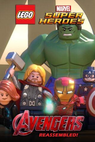 File:LEGO Marvel Super Heroes Avengers Reassembled poster 001.jpg