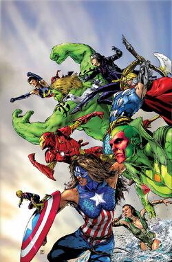 New Avengers Vol 4 5 Textless