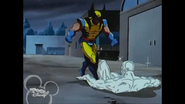 Robert Drake (Earth-92131) and Wolverine (Logan) (Earth-92131) from X-Men The Animated Series Season 3 15 001