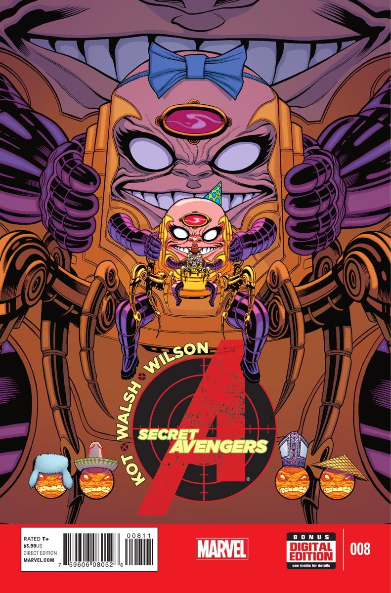 Secret Avengers Vol 3 8