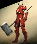 Stark Odinson (Warp World) (Earth-616) from Infinity Wars Iron Hammer Vol 1 2 002
