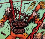 Victor Creed (Earth-18138) from Cosmic Ghost Rider Vol 1 3 001