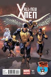 All-New X-Men Vol 1 1 Mile High Comics Variant