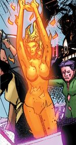 Amara Aquilla (Earth-12934) from New Mutants Vol 3 49 0002