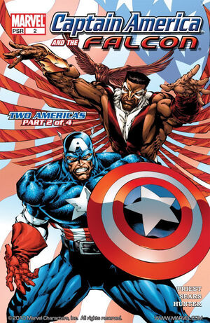 Captain America and the Falcon Vol 1 2