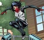 Cindy Moon (Jessica Drew) (Earth-616) from Amazing Spider-Man & Silk- The Spider(fly) Effect Infinite Comic Vol 1 2 001